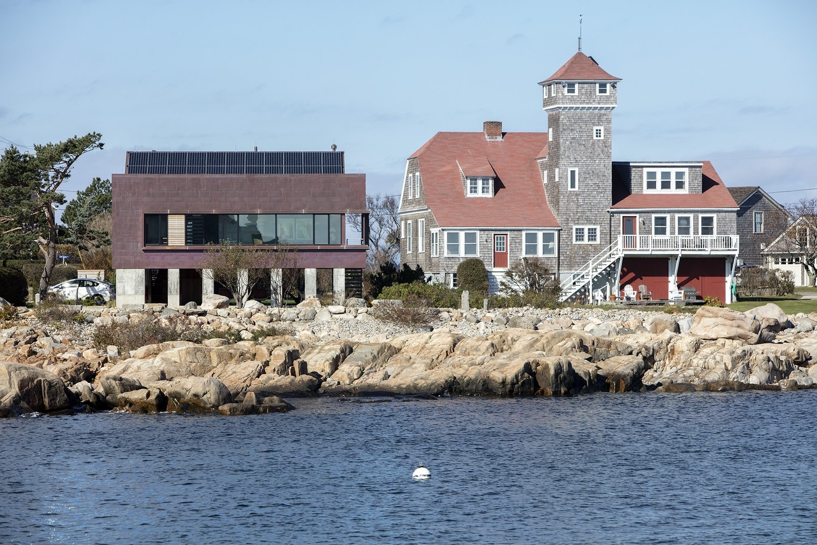 Gap Cove House by Ruhl Studio Architects