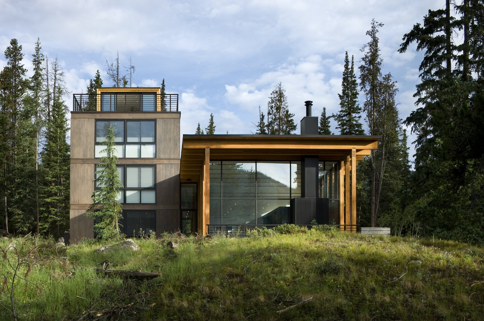 Tagged: Exterior, House, Concrete Siding Material, and Wood Siding Material.  Weigel Residence by Substance Architecture