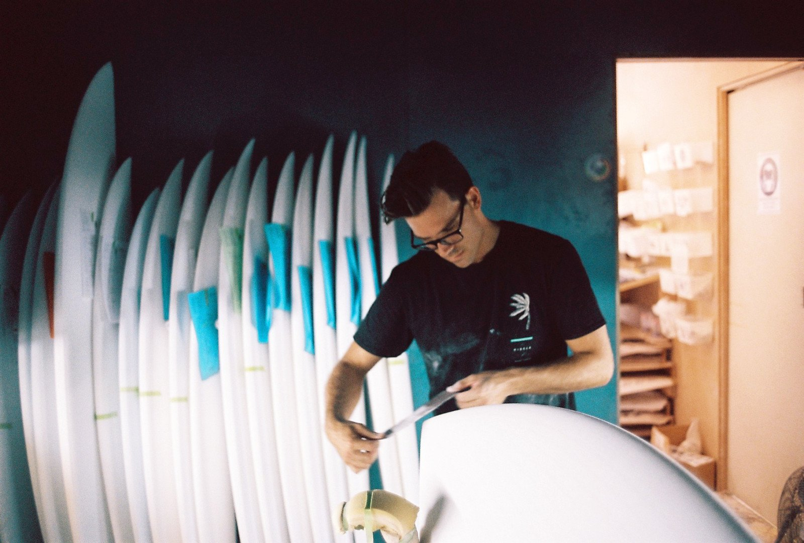 Photo 17 of 21 in How Hayden Cox's high-tech surfboards are shaking up the industry