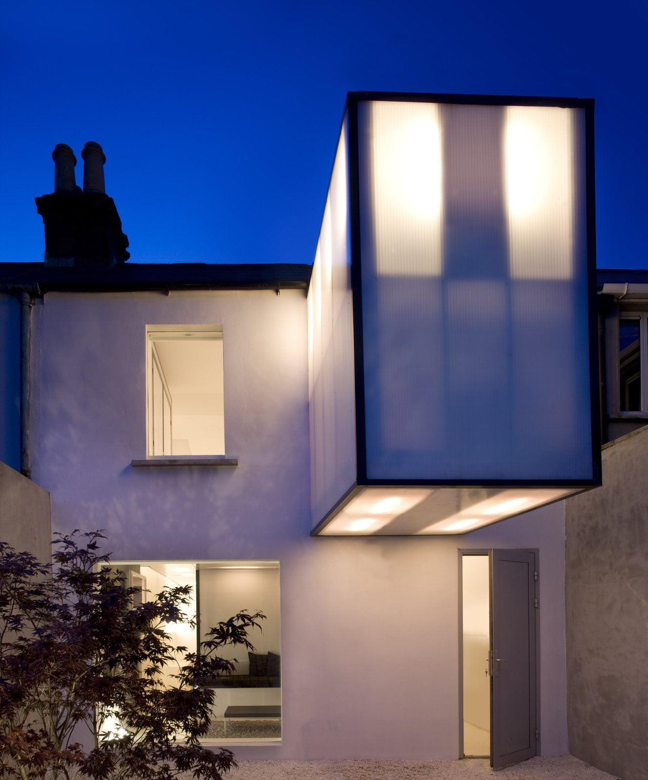 Plastic House by Urban-Agency Architects