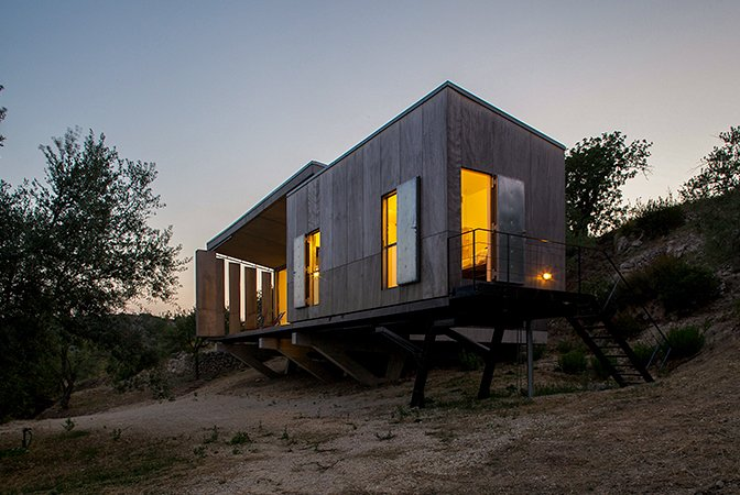 Photo 9 of 11 in 10 of the Best Architectural Homes You Can Actually Stay In