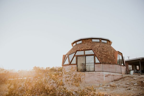 Geodesic Dome House Modern Home In Palm Springs