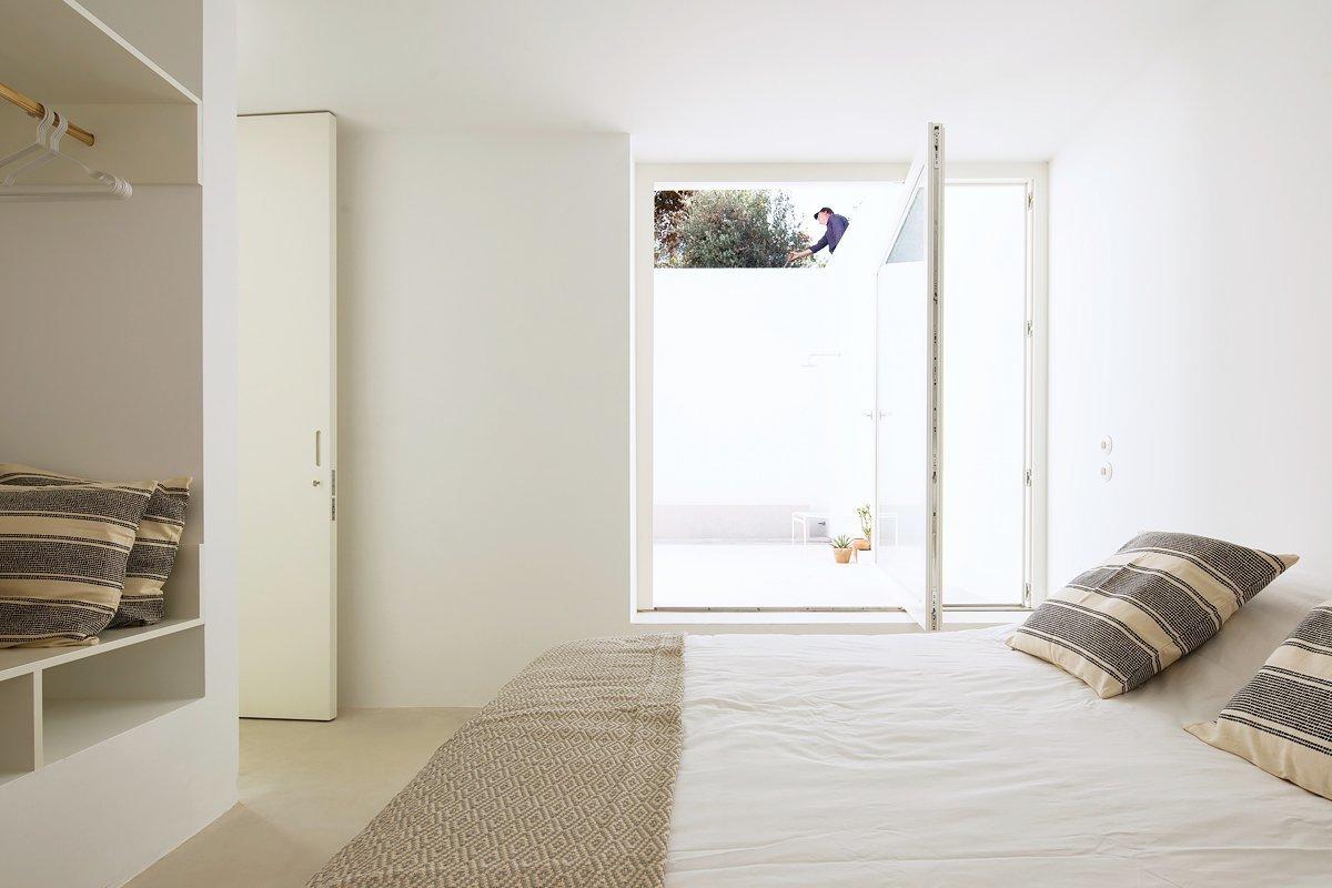 Bedroom, Bed, Wardrobe, and Concrete  Bedroom Bed Concrete Wardrobe Photos from Casa Luum