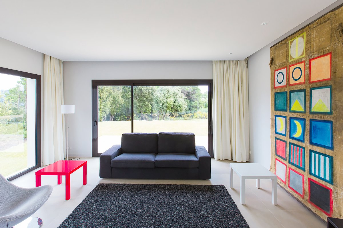 Living Room, Sofa, and End Tables  Barcelona Sanctuary