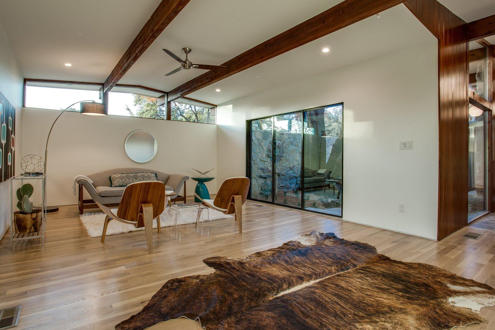 Living Room  1963 Post and Beam Mid Century Modern by Tavis Westbrook