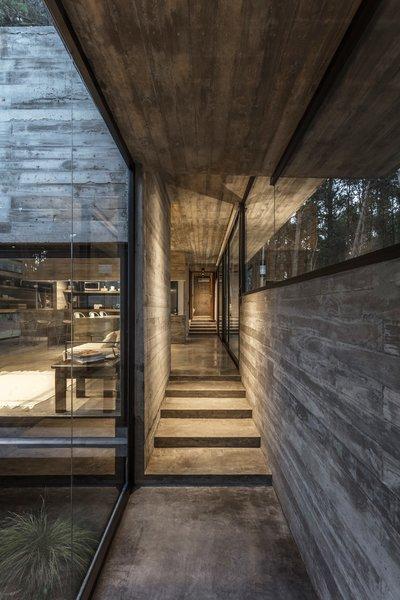 """The construction coexists with its environment in the friendliest way,"" says María Victoria Besonías, principal at Besonías Almeida Arquitectos, who completed Casa Bosque in 2018."
