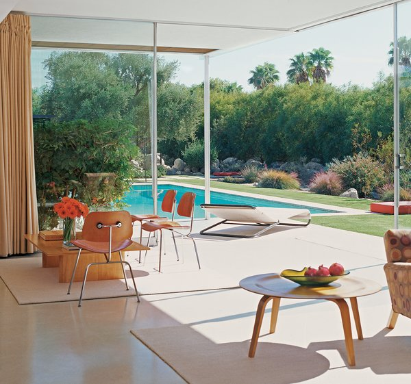 """""""The home has an unusual resonance when you see it,"""" says Kaufmann house owner Brent Harris. """"It has a volumetric, spatial beauty that changes throughout the day, particularly at twilight. There are a lot of great Neutra houses, but this has different feel entirely. It's very photogenic."""""""