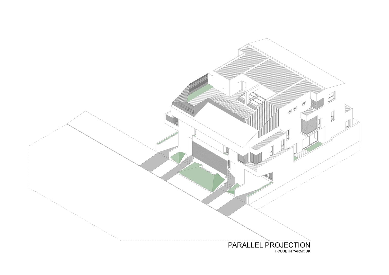 A House in Yarmouk by Studio Toggle