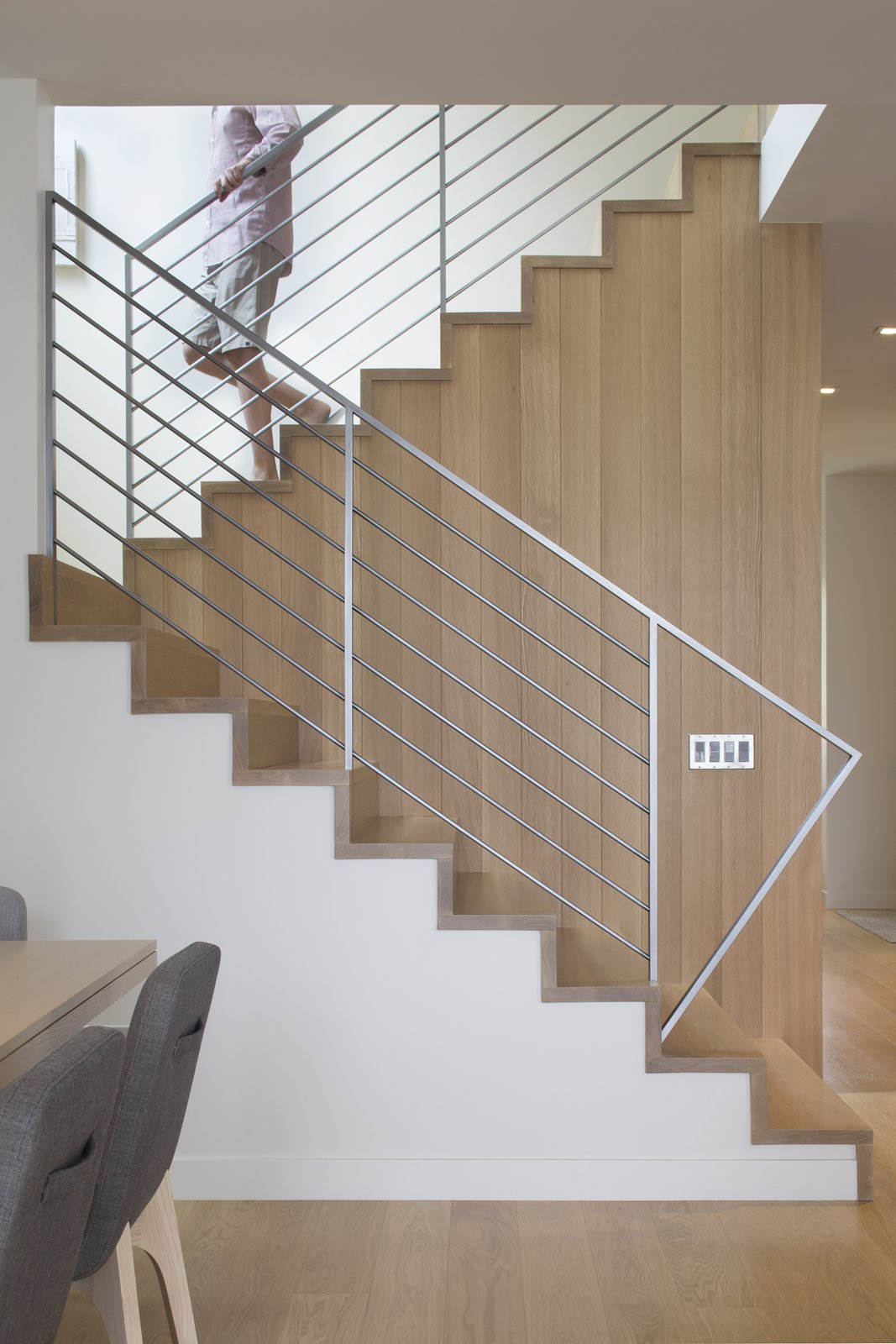 Tagged: Staircase, Wood Tread, and Metal Railing.  Game On by rowland + broughton
