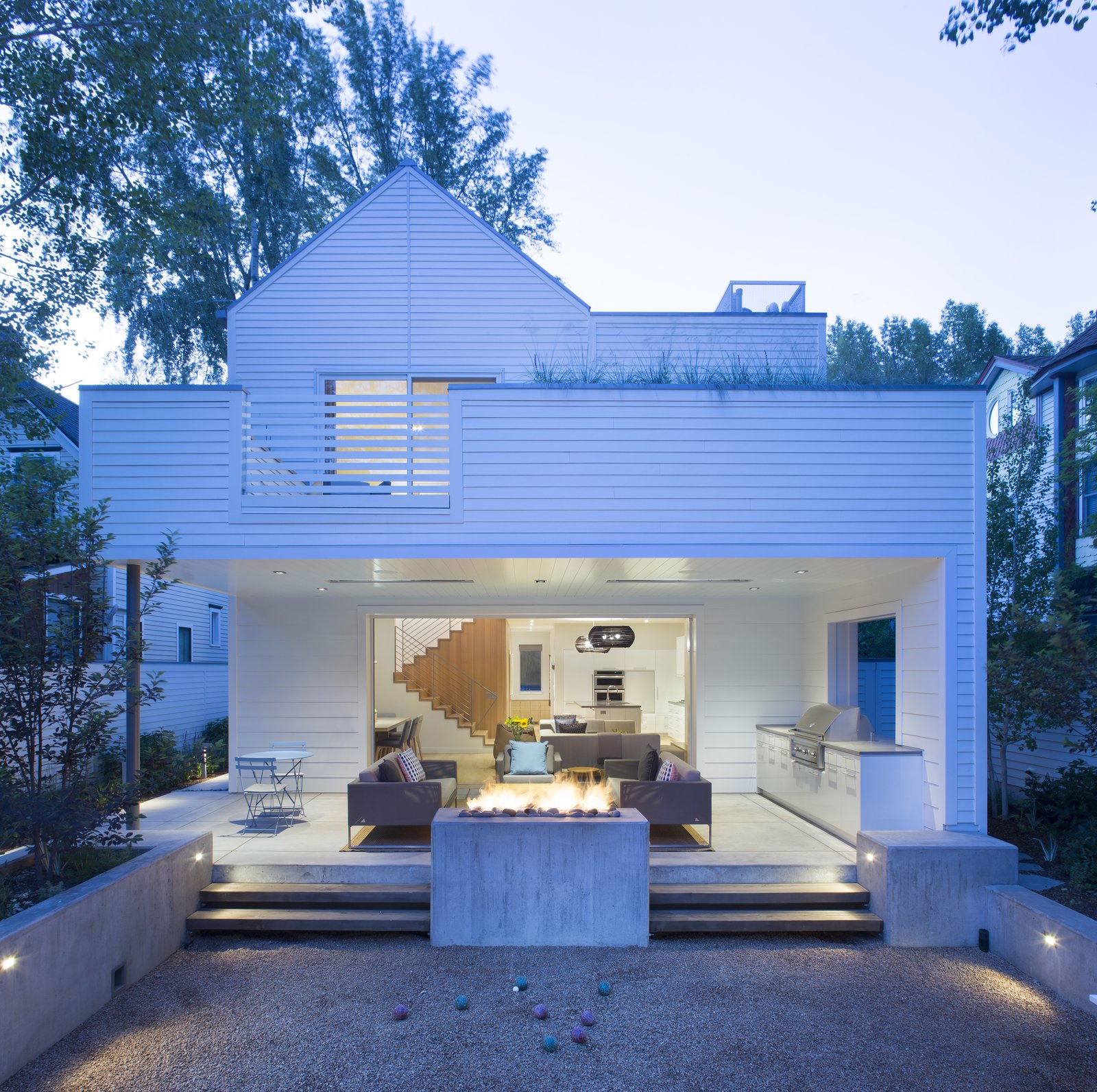 Exterior, House Building Type, and Wood Siding Material  Game On by rowland + broughton