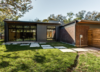 Modern home with Exterior, Metal Siding Material, House Building Type, and Brick Siding Material. Photo 3 of Richardson House
