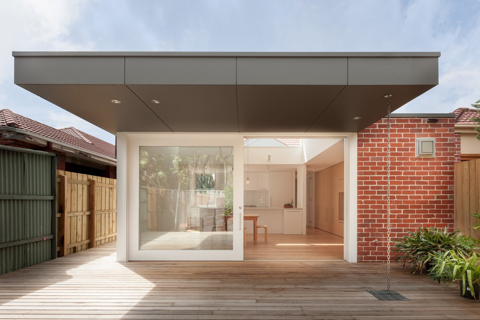 Outdoor, Hardscapes, Wood Patio, Porch, Deck, and Back Yard  Residence B&G by Open Studio Pty Ltd Architecture