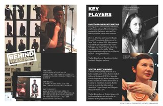curio 6: behind the scenes - Photo 6 of 6 -