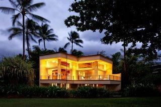 Hanalei Bay Villa at twilight