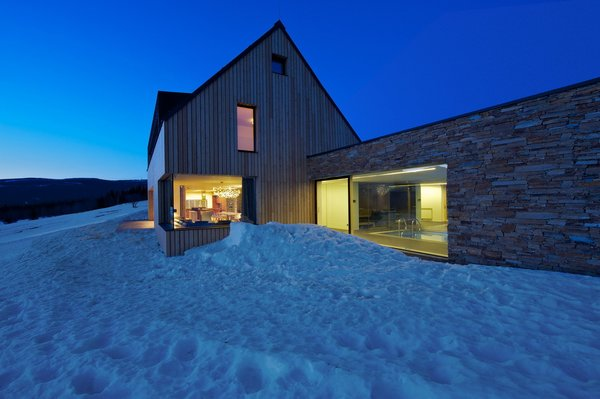 """Mountain Chalet """"Tereza"""" by ADR Architects"""