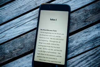 NeuBible's distraction-free experience elevates the content of the Biblical text.