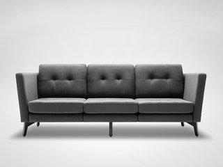 A Look at the Burrow Sofa - Photo 1 of 2 - A prototype of the Burrow sofa.