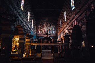 The Opinionated Leica Q - Photo 6 of 9 - The marvelous interior of The Anglican Parish of Saint Mark in NW Portland.