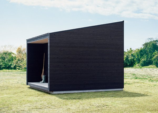 With a stark and restrained design, the sense of presence and solitude are carefully elevated.  Photo 4 of 7 in The Muji Hut is a Masterful Take on Minimalism