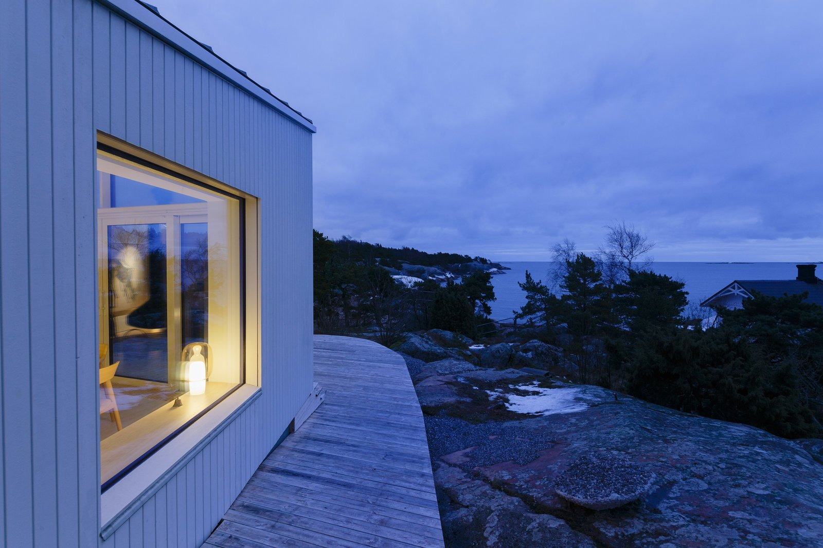 Outdoor  Photo 3 of 12 in A Modern Finnish Villa That Grows Out of a Seaside Cliff