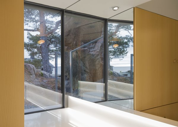 Photo 7 of 12 in A Modern Finnish Villa That Grows Out of a Seaside Cliff