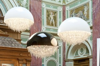 Ozero crystal chandeliers