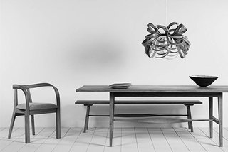 The Butterfly Pendant and Arbor Chair