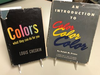 Highlights from the  Alden B. Dow Home & Studio Book Collections – Books on Color - Photo 2 of 4 -