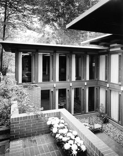 """Autumn Reflections 2017"" opens historically significant mid-century modern homes to touring - Photo 1 of 3 - The Peter Carras Residence 1961 (The Dow Test House).  The last home Alden B. Dow designed."