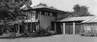"""Autumn Reflections 2017"" opens historically significant mid-century modern homes to touring - Photo 2 of 3 - The Earl Stein Residence, 1933.  The first home Alden B. Dow designed <br>"