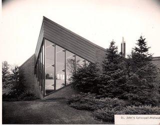 St. John's Episcopal Church  Mid-Century Modern  by Alden B. Dow