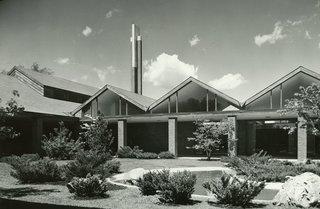 St. John's Episcopal Church ,<br>Mid-Century Modern,<br>Midland MI, by Alden B. Dow, www.abdow.org