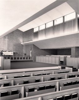 St. John's Episcopal Church, Mid-Century Modern,  Midland MI, by Alden B. Dow, www.abdow.org