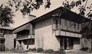 The Calvin A. Campbell Residence by Alden B. Dow - Photo 1 of 5 -