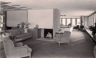 The Calvin A. Campbell Residence by Alden B. Dow - Photo 2 of 5 -