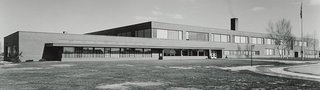 Northeast Intermediate School, Midland, Michigan by Alden B. Dow