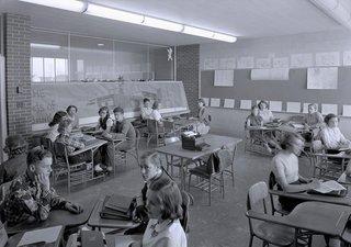 Northeast Intermediate School, Midland, Michigan by Alden B. Dow - Photo 1 of 5 -