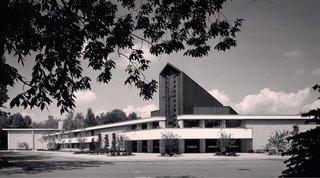 First Presbyterian Church of Dearborn, Michigan by Alden B. Dow