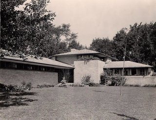 The Dr. Charles MacCallum Residence by Alden B. Dow - Photo 1 of 5 -