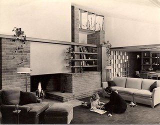 The Dr. Charles MacCallum Residence by Alden B. Dow - Photo 2 of 5 -