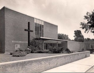 Messiah Lutheran Church by Alden B. Dow