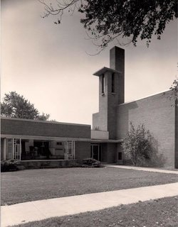 Messiah Lutheran Church by Alden B. Dow - Photo 1 of 3 -