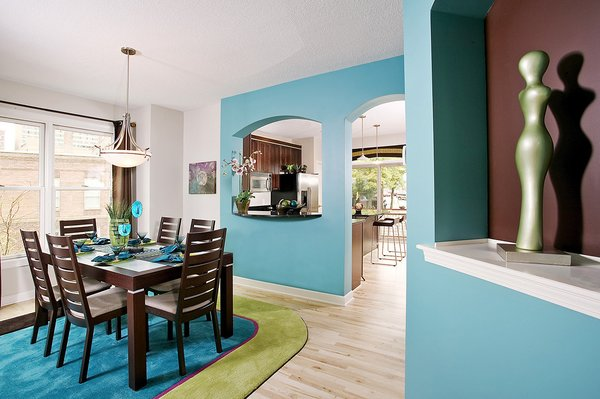 Two-story townhomes in 4-unit buildings are designed with flexibility to accommodate everyone from young singles with roommates to empty nesters.