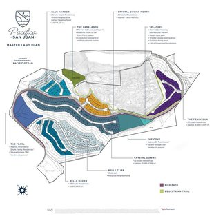 Pacifica San Juan Master Land Plan.