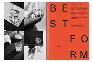 ZEITmagazin MANN no. 01 — Design by Bureau Mirko Borsche
