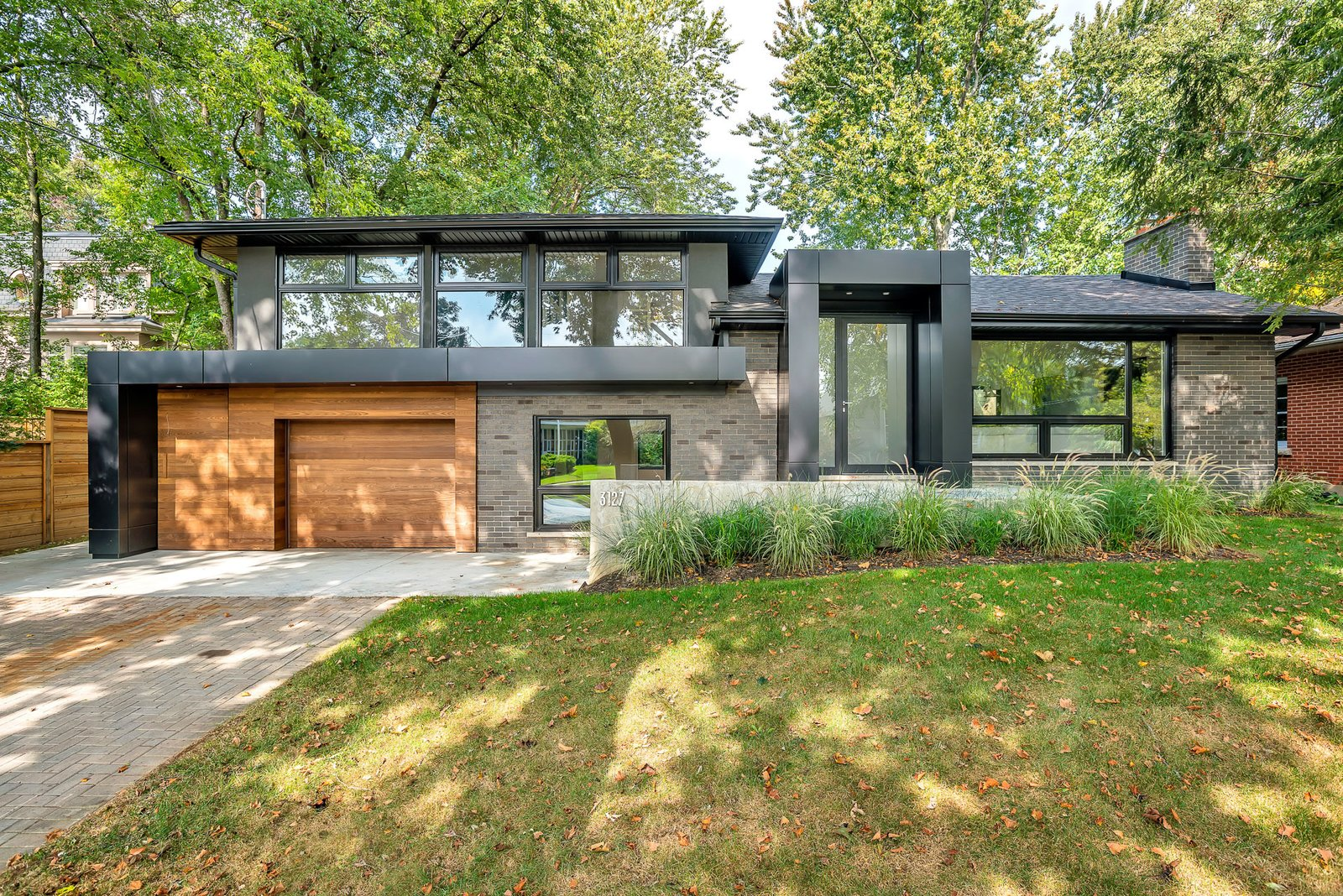 Exterior and House Building Type  Modern Renovation