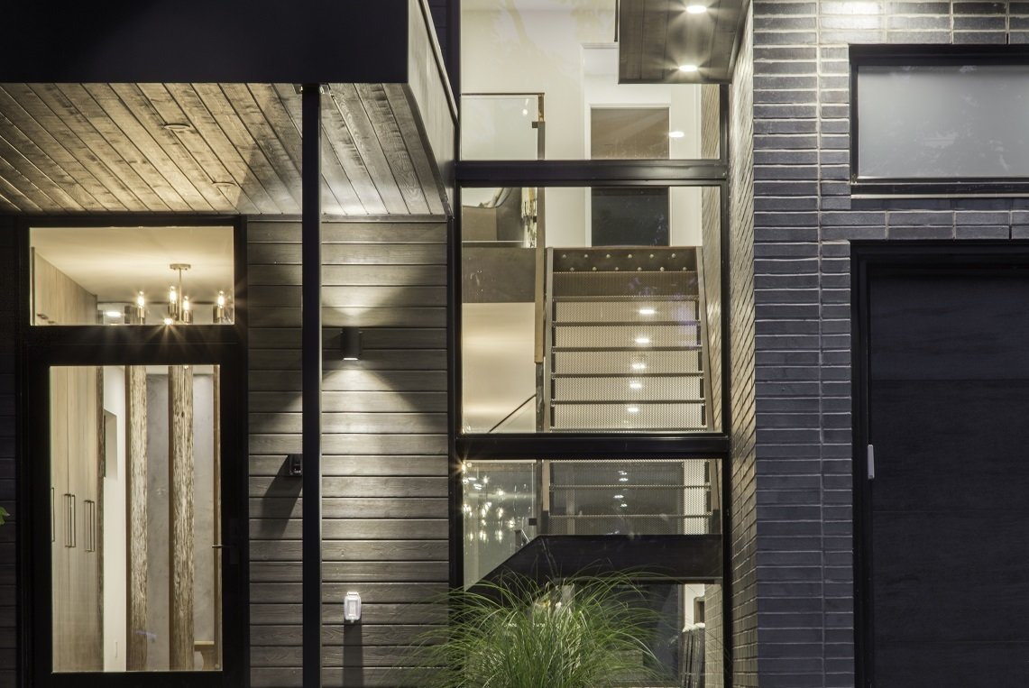 Staircase and Metal Tread  Modern Architectural Design