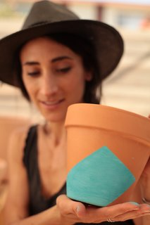 Put a Plant on It | DIY Painted Terra Cotta Pots - Photo 5 of 8 -