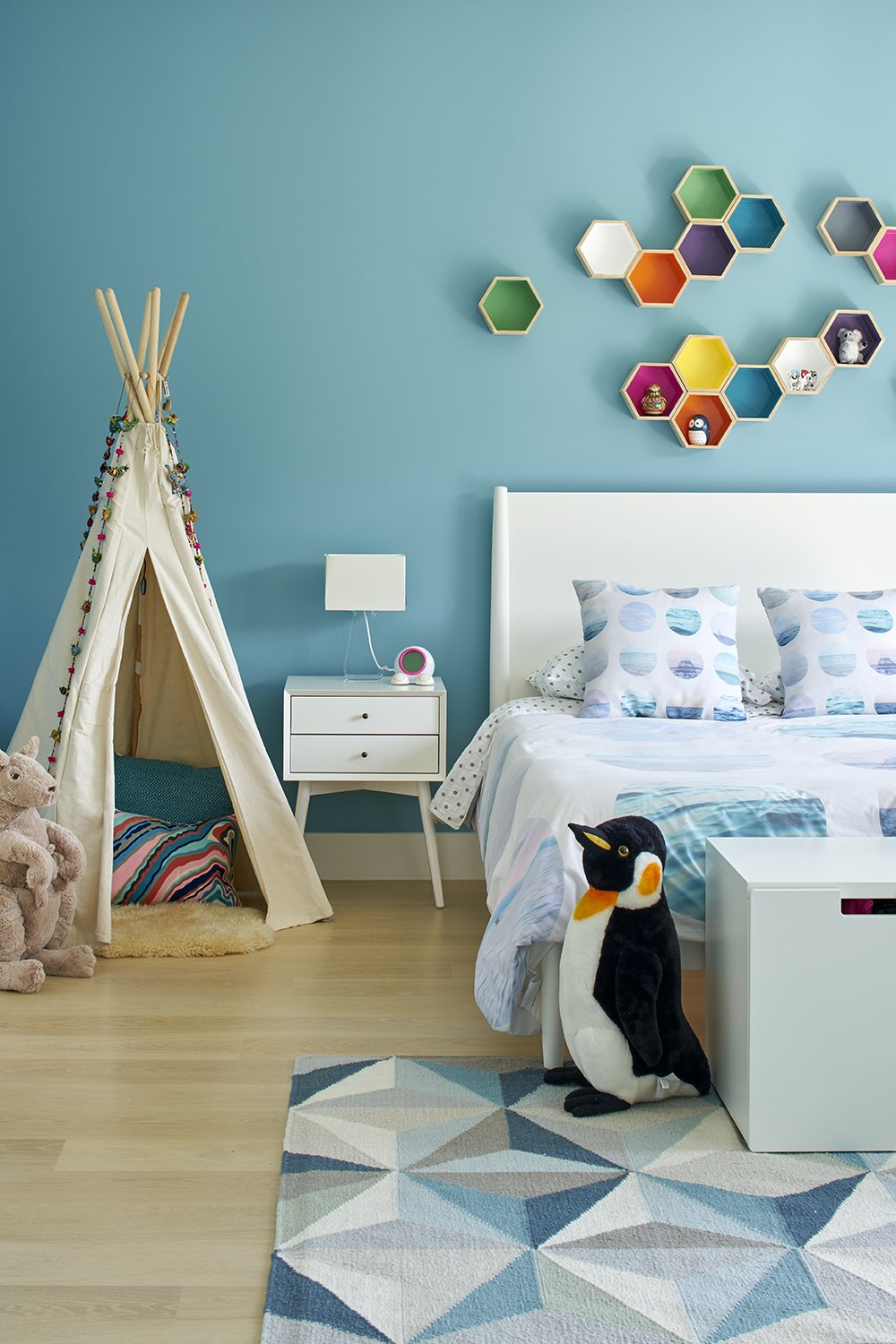 Kids Room, Bedroom Room Type, and Bed  Randall Street by YAMAMAR Design