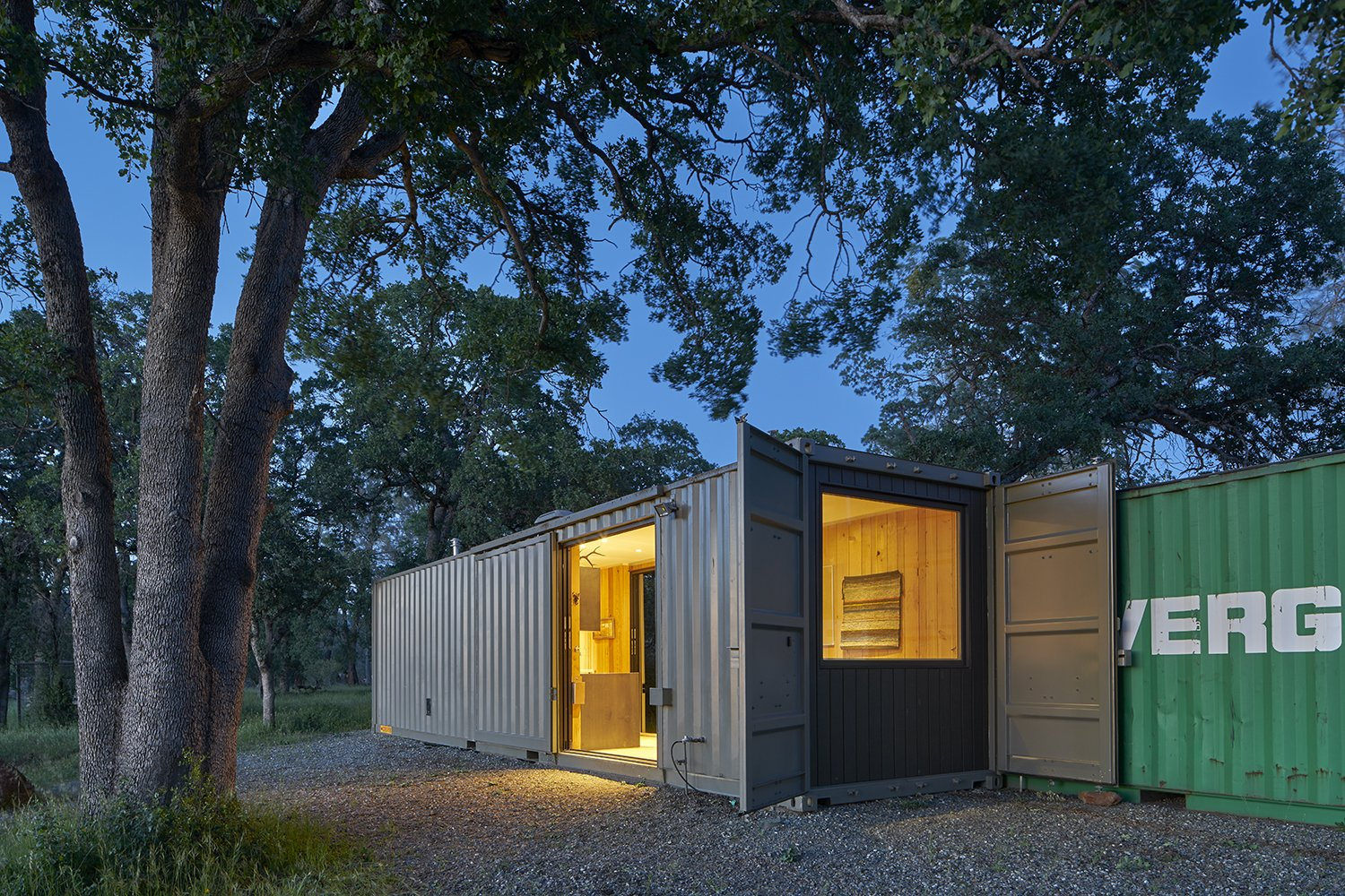 Exterior and Shipping Container Building Type  Container Cabin by YAMAMAR Design